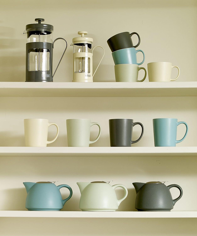 /Blanc La Collection Cafeti/ère Barcelone 380/ML//0,4/l Pot /à Lait en c/éramique/