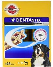 Pedigree Dentastix - Friandises pour Grand Chien, 112 Bâtonnets à Mâcher pour L'hygiène Bucco-Dentaire (16 Sachets de 7 Sticks)