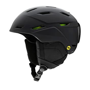 Smith Mission MIPS - Casco de Nieve, Unisex Adulto, Color Matte Black, tamaño