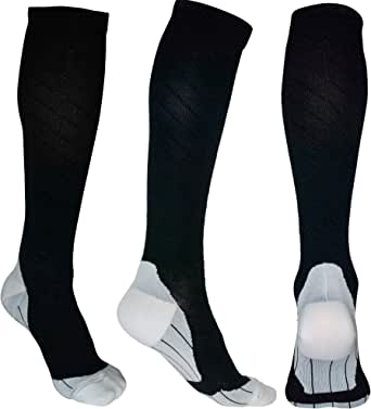 ODIJOO 1/3/8/10 Pairs Compression Socks Women&Men 20-30 mmHg Best for Athletic, Medical