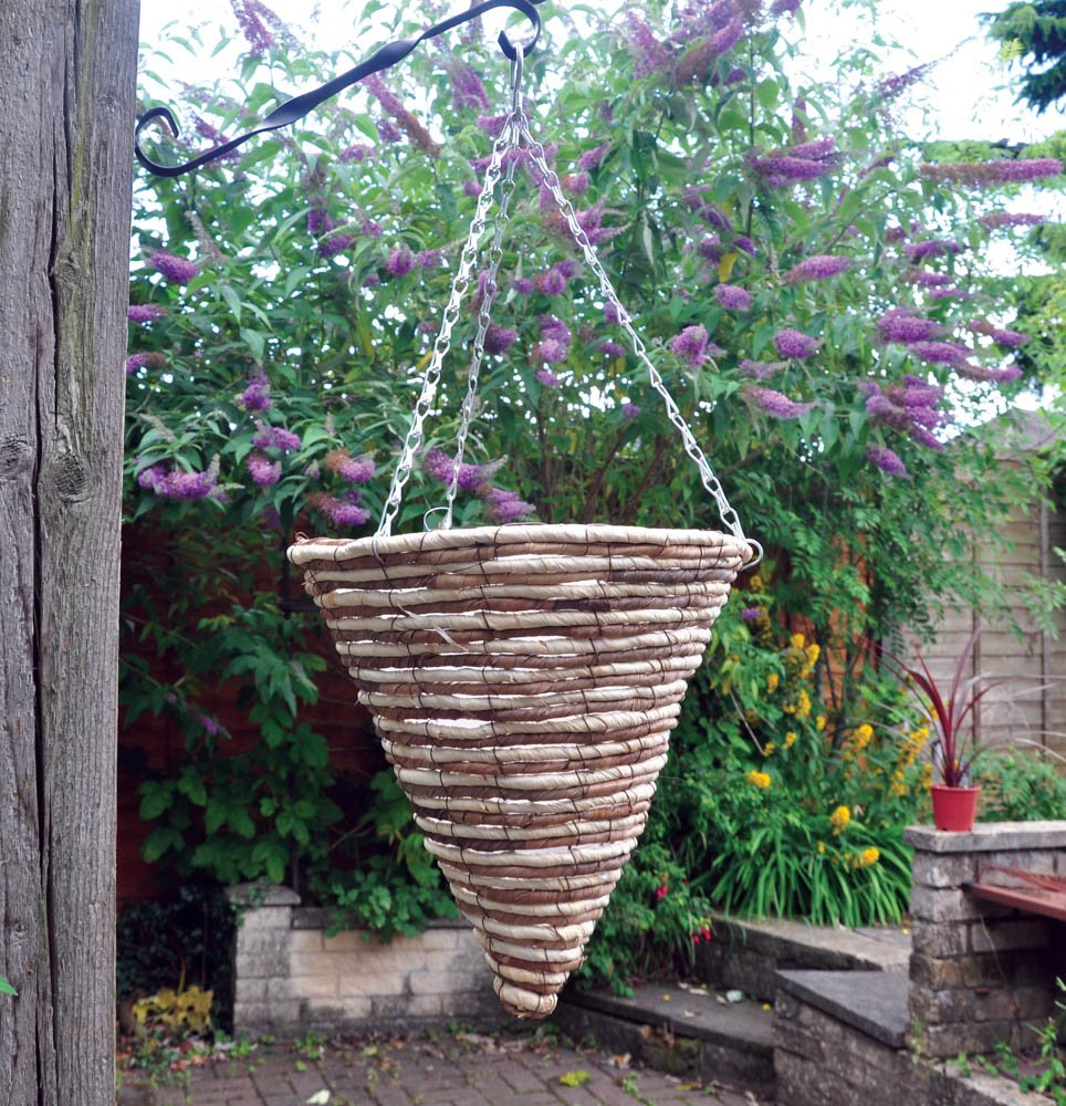 Kingfisher 30/cm Corde C/ône de doubl/é Panier de Jardin 40/cm Cha/îne de Suspension
