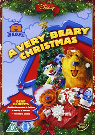 bear in the big blue house a very beary christmas import anglais - Bear Inthe Big Blue House Christmas