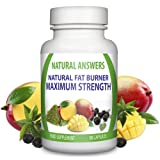 ULTRA Strong WEIGHT LOSS Natural Fat Burner Diet Pills - 1 Month Supply - Fat Burners For Men & Women - Work Quicker Than Raspberry Ketone, Colon Cleanse, T5, T6 - Lose Weight Fast Slimming Supplement