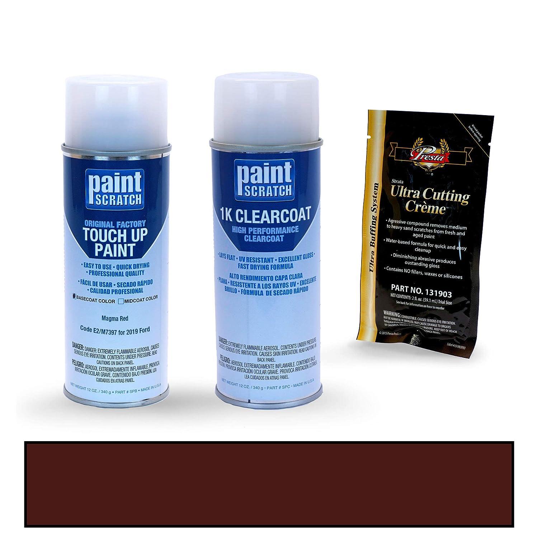 PAINTSCRATCH Oxford White (B9791) Z1/M6887 for 2019 Ford Ranger - Touch Up Paint Spray Can Kit - Original Factory OEM Automotive Paint - Color Match ...