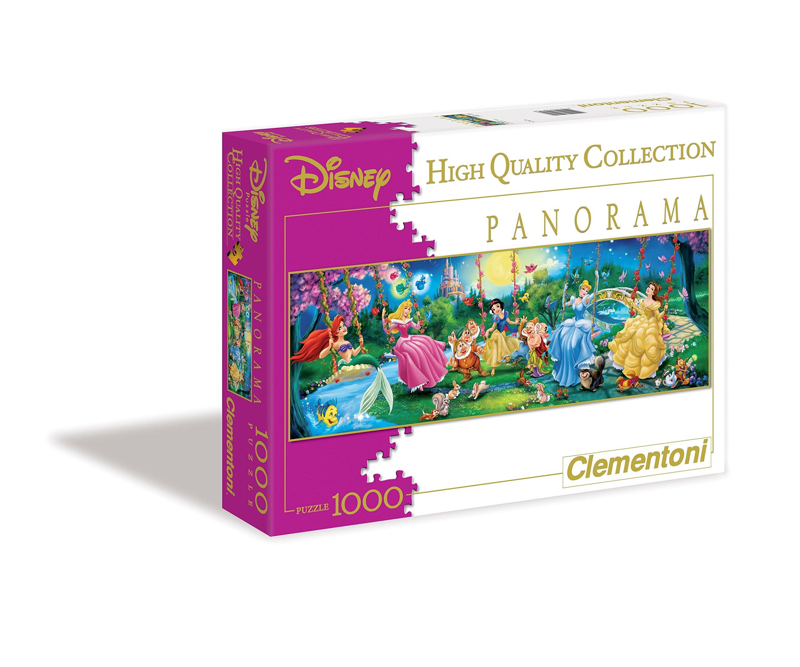 Clementoni 39449 Disney Panorama Collection Clementoni-39449-Disney Panorama Collection-Mickey /& Minnie-1000 Pieces Multi-Colour