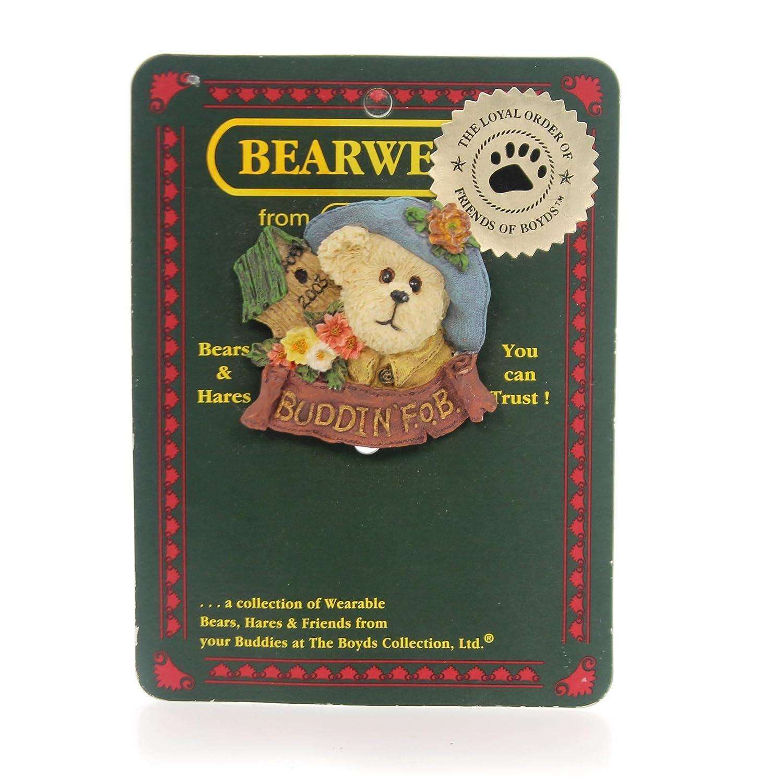 Aunt Birdie Lapel Pin #02003-11 Boyds Bearwear