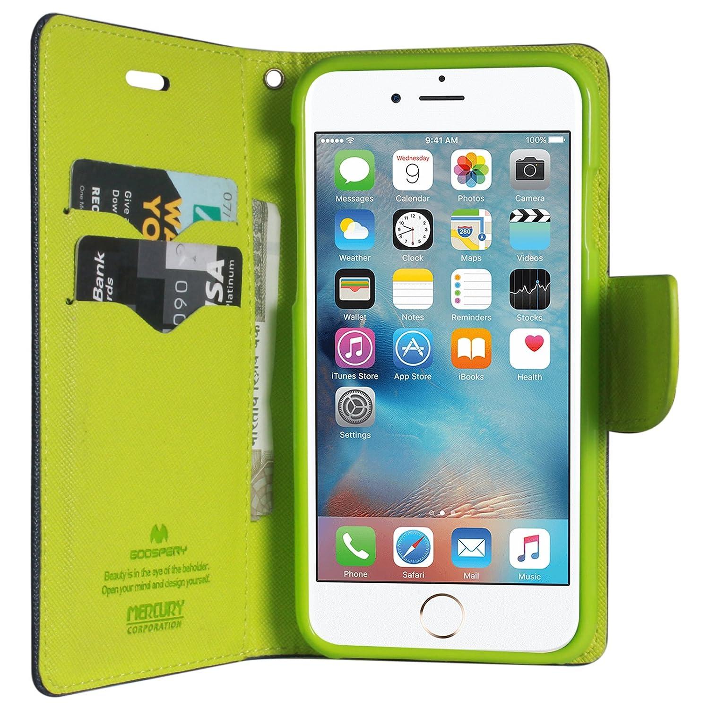 Dmg Premium Wallet Flip Cover For Apple Iphone 6s Goospery 6 Plus Fancy Diary Case Brown Black Electronics