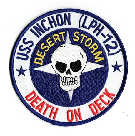 Amazon United States Navy Uss Inchon Lph 12 Death On Deck