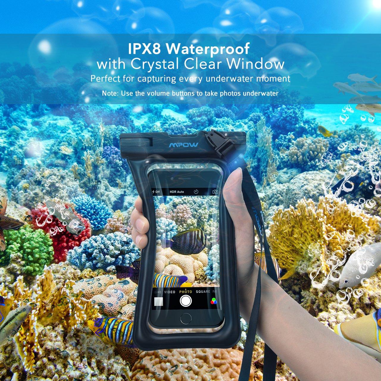 Touche-Sensible Wiko Mpow 【Flottant】 Pochette Etanche IPX8 Galaxy S9 S8 S7 Huawei P20 P10 HTC Housse Etanche T/él/éphone jusqu/à 6 Pouces pour Tous Les Mobiles liPhoneXR//XS//X//8//8plus//7//6