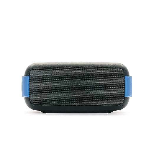 6 opinioni per Macrom Easy Speaker Wireless Bluetooth Impermeabile con Vivavoce e NFC, Nero/Blu
