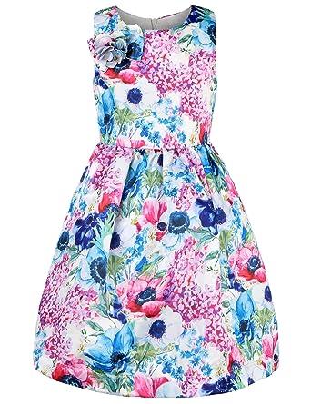 Amazon ephex toddler girls flower princess silky dress with ephex toddler girls birthday party dress for baby girls 24m mightylinksfo