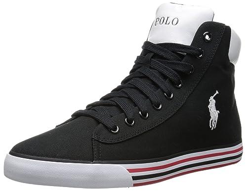 Polo Ralph Lauren Harvey Zapatilla de Deporte de Moda: Amazon.es: Zapatos y complementos