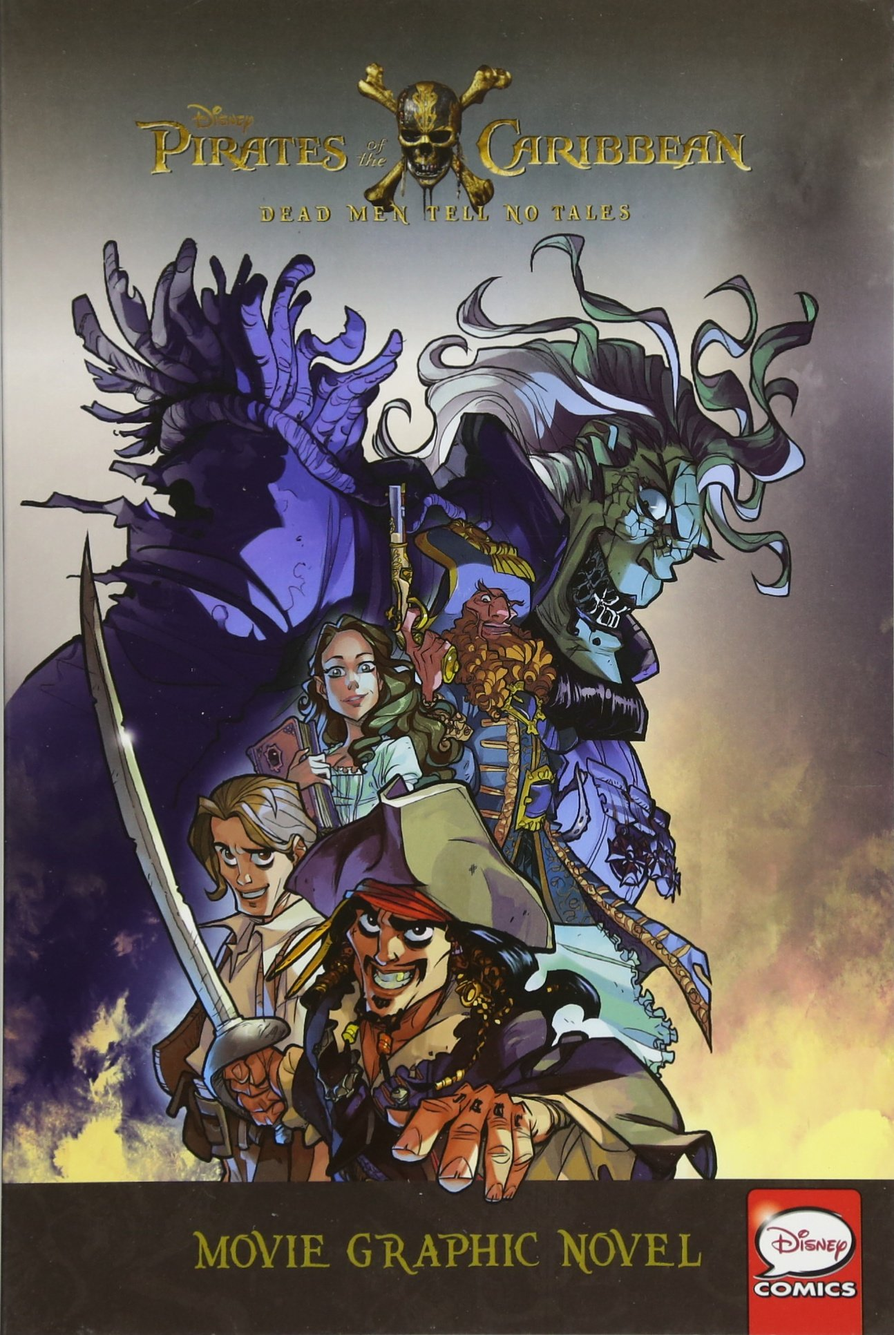 Disney Pirates of the Caribbean: Dead Men Tell No Tales Movie Graphic Novel
