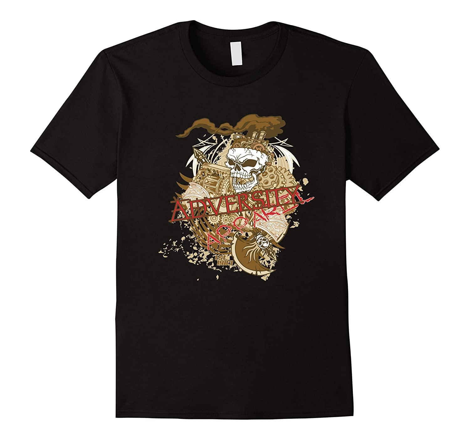 Adversity Apparel T Shirts For Women Graphic Tees For Men-Art