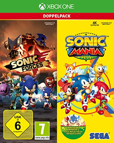Sonic Mania Plus and Sonic Forces Double Pack (XBox ONE): Amazon.es: Videojuegos