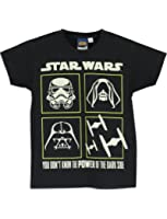 Star Wars Boys' Star Wars T-Shirt Glow in the Dark