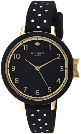 17c8002c8 kate spade new york Women's Park Row Silicone Stainless Steel  Japanese-Quartz Watch with Strap