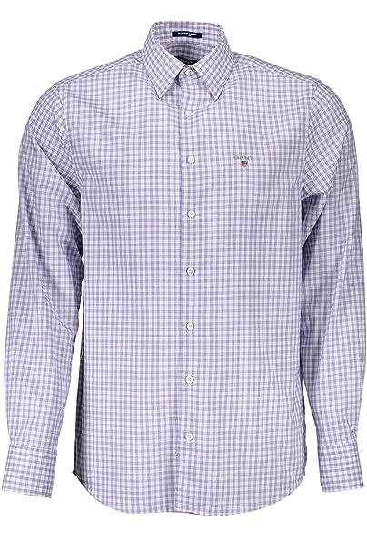 11d20a8f Gant Men's Tech Prep Regular Gingham Oxford Shirt Long Sleeve Casual ...