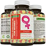 Natural Breast Enhancer Breast Enlargement Pills To Increase Size And Shape – With Ginseng + L Arginine + Maca Root + Tongkat Ali – Improve Shape Without Putting On Weight By California Products