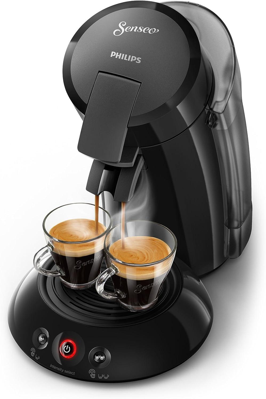 Senseo HD6555/20 - Cafetera (Independiente, Máquina de café en cápsulas, 1,2 L, Dosis de café, 1450 W, Negro): Amazon.es: Hogar