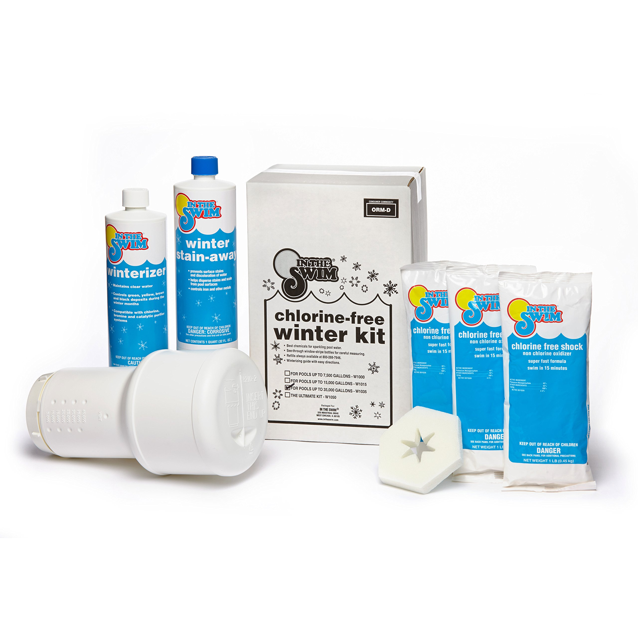 In The Swim Pool Winterizing Closing Chemical Kit - Up to 35,000 Gallons by In The Swim (Image #1)