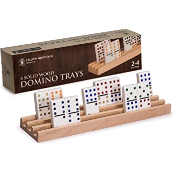 Mexican Train Dominoes Chicken Foot Dominoes Accessory Set Hub