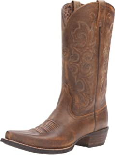 Amazon.com | Ariat Women's Alabama Western Cowboy Boot | Mid-Calf
