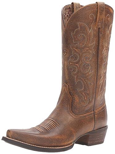 Ariat Women's Alabama Western Cowboy Boot, Vintage Bomber, ...