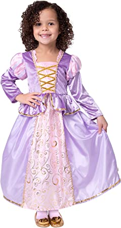 Little Adventures - Disfraz de Princesa clásica de Rapunzel para ...