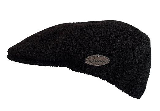fd794458df9 KANGOL BERMUDA 504 CAP  BLACK  (Small