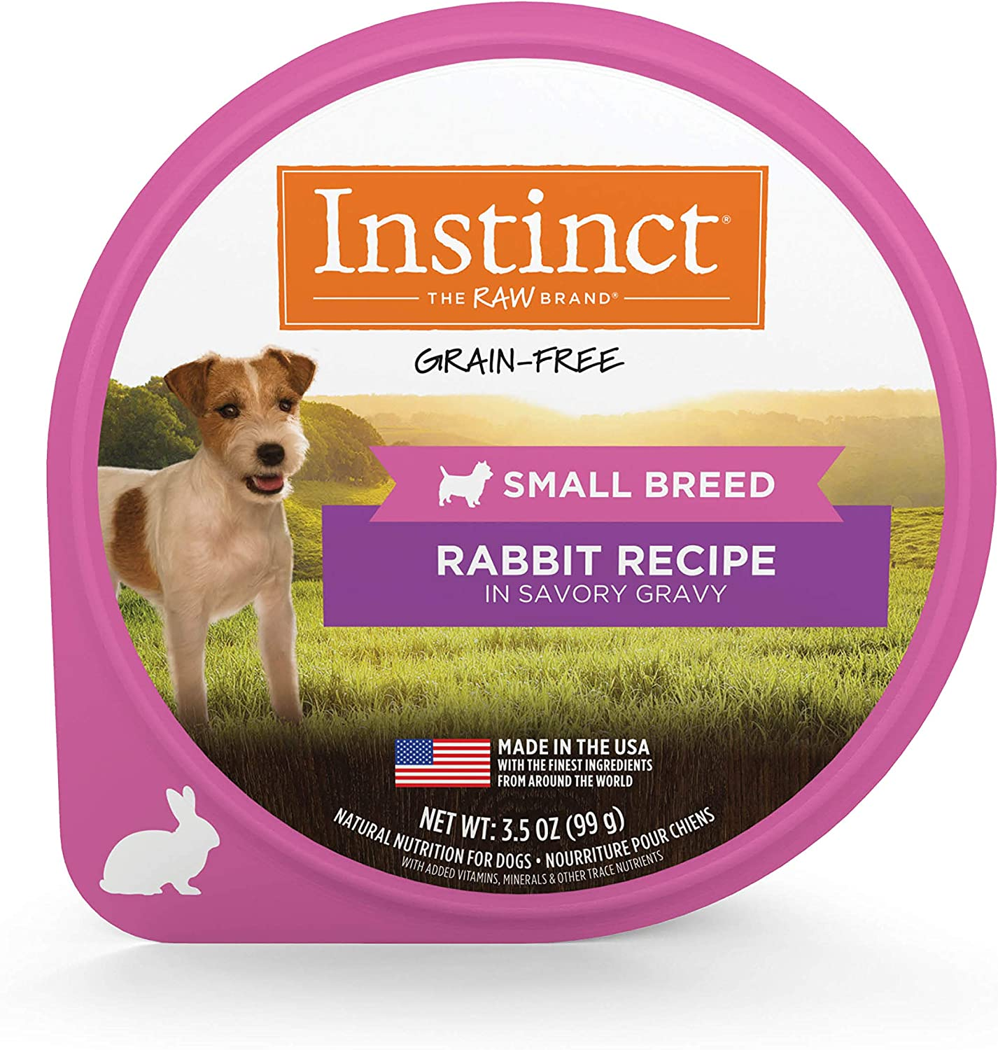 Instinct Original Small Breed Grain Free Recipe Natural Wet Dog Food Cups
