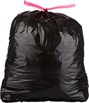 AmazonBasics 30 Gallon Large Trash Bag with Draw Strings, 1.2 mil, 120-Count