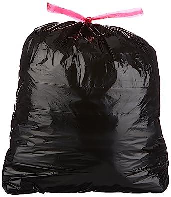 AmazonBasics - 30 Gallon grande bolsa de basura con dibujar ...