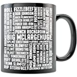 MST3K Mug - Big McLarge Space Mutiny - Black 11oz Ceramic