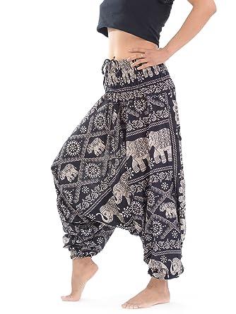 221cca2e09e Large Size Low Crotch Ladies Harem Trousers Plus Size Harem Pants