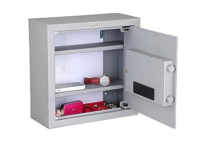 Arregui 17000-S5 Caja Fuerte camuflada para Falso Fondo de Armario Color Plata con Dibujo