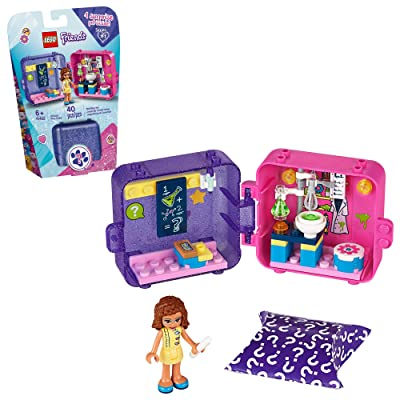 LEGO Friends Olivia's Play Cube 41402 Building Kit, Includes 1 Scientist Mini-Doll, Great for Imaginative Play, New 2020 (40 Pieces): Toys & Games