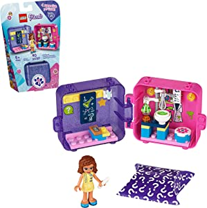 LEGO Friends Olivia's Play Cube 41402 Building Kit, Includes 1 Scientist Mini-Doll, Great for Imaginative Play, New 2020 (40 Pieces)