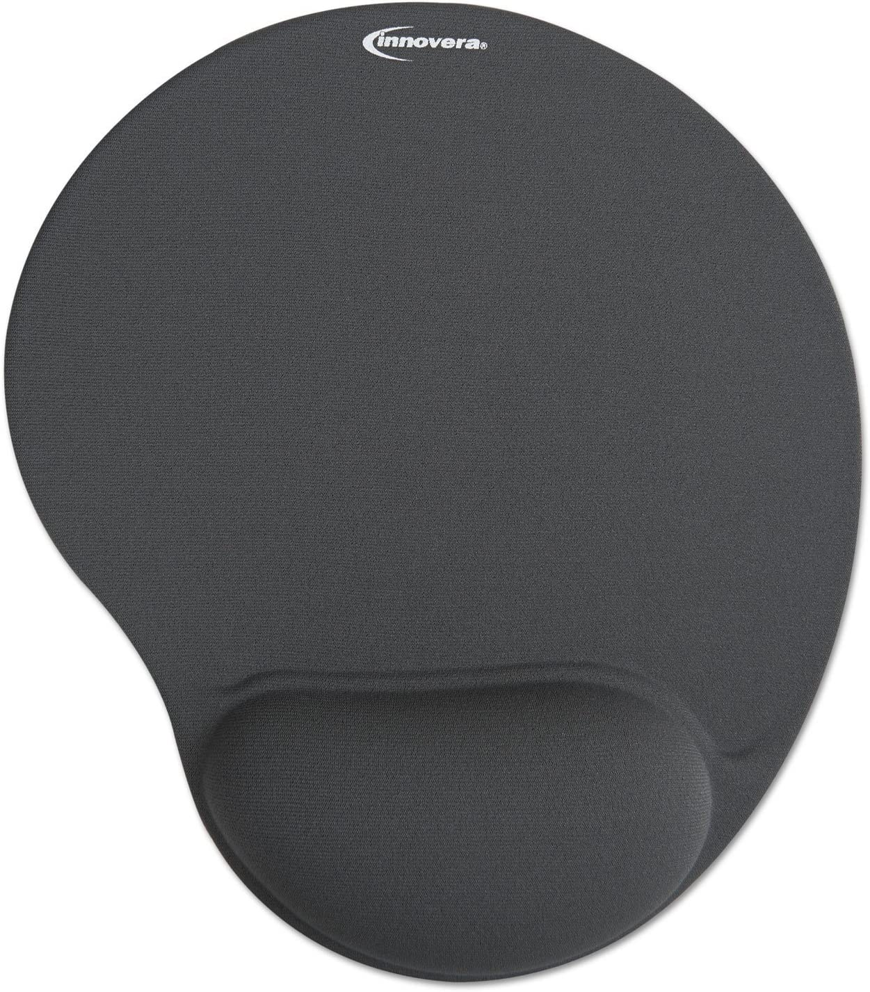 Free Shipping 50449 New Innovera Mouse Pad with Gel Wrist Pad Gray
