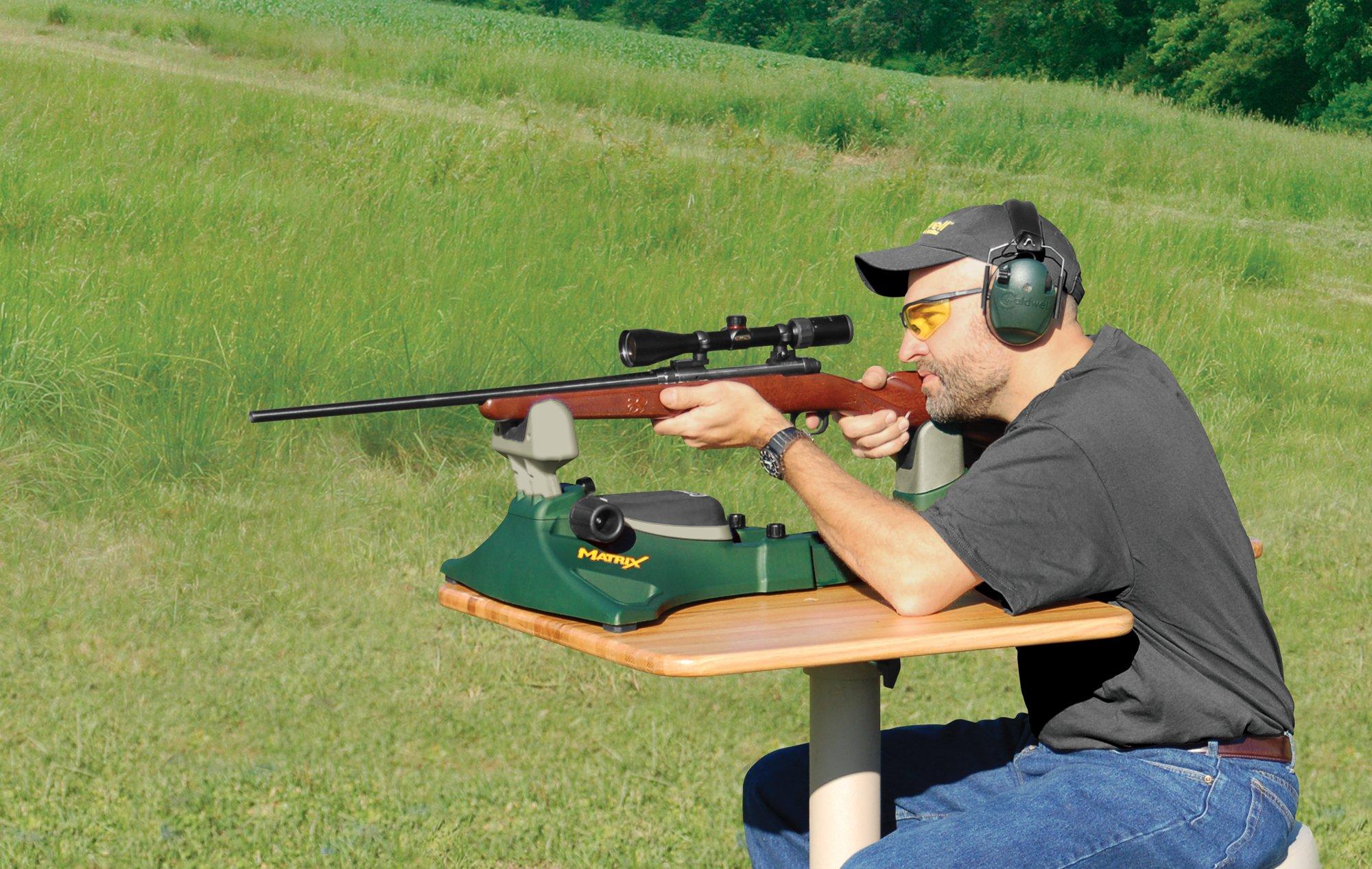 Caldwell Matrix Adjustable Ambidextrous Rifle Pistol Handgun Shooting Rest for Outdoor Range by Caldwell (Image #6)