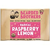Bearded Brothers Radical Raspberry Lemon Energy Bar Raw, Vegan, Gluten & Soy Free, Non-GMO, Energy Bars, 12 Piece