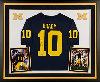 tom brady michigan jersey amazon