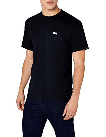 2935a231f9d013 Vans Men's Left Chest Logo Tee T - Shirt: Amazon.co.uk: Clothing