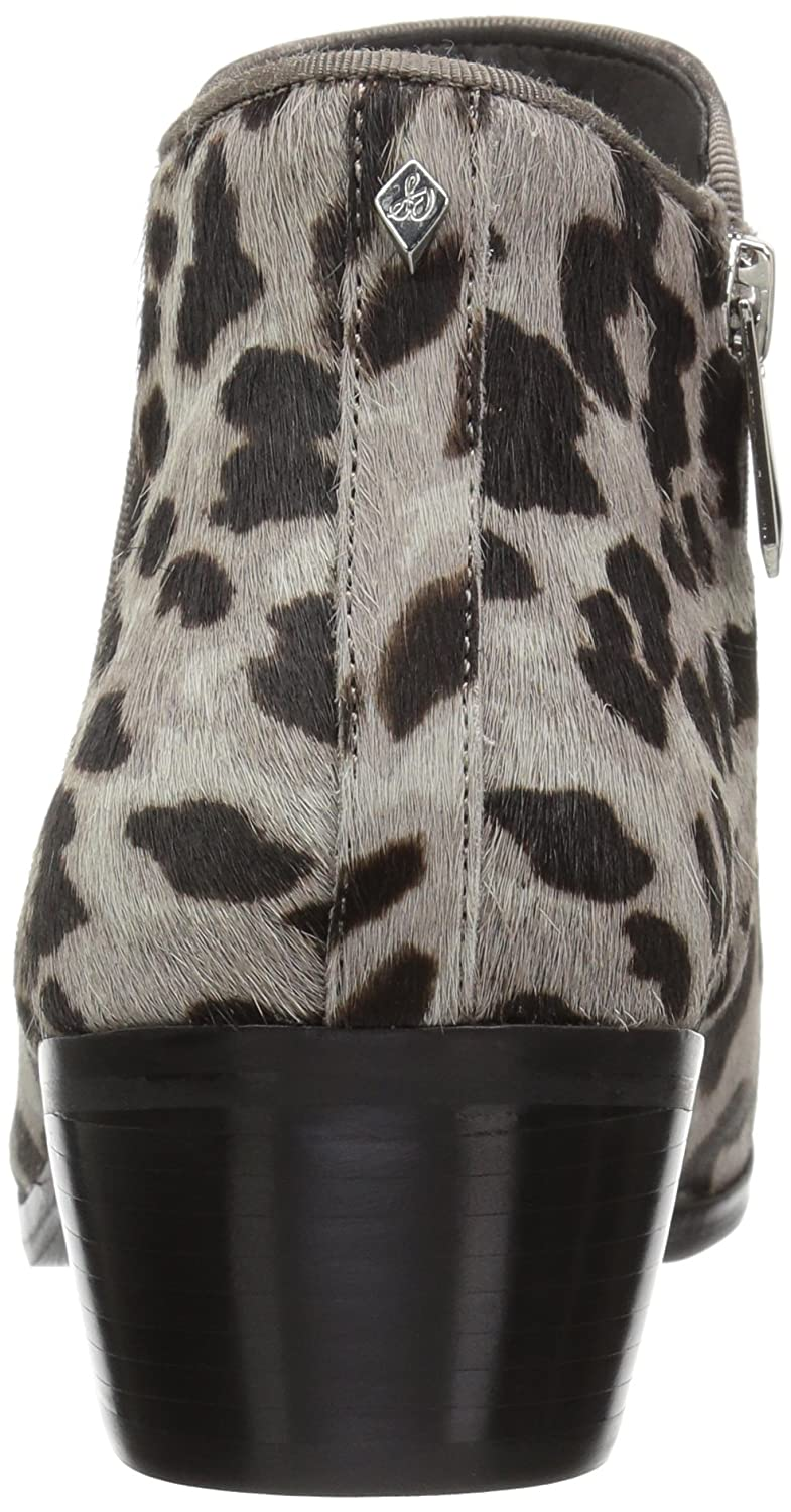 Sam Edelman Women's Petty US|Grey Ankle Boot B07BQYZ38Y 8.5 W US|Grey Petty Leopard 5d1fc8