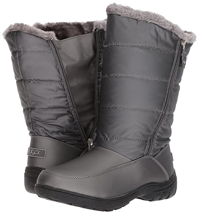 6667097686 Sugar Women s Lucille Tall Shaft Faux Fur Waterproof Snow Winter Weather  Boot  Amazon.com.au  Fashion