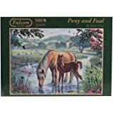 Falcon de Luxe - Pony and Foal Jigsaw Puzzle (500 Pieces)
