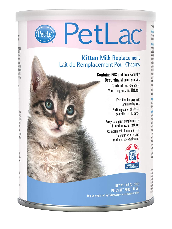 Petlac Milk Powder For Kittens 10 5 Oz Amazon In Pet Supplies