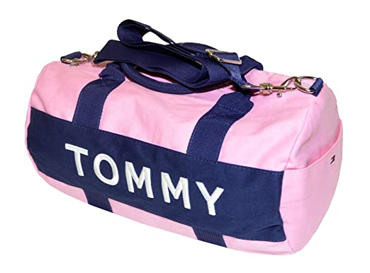 Tommy Hilfiger Mini Harbor Point Duffle Bag One Size Pink Navy