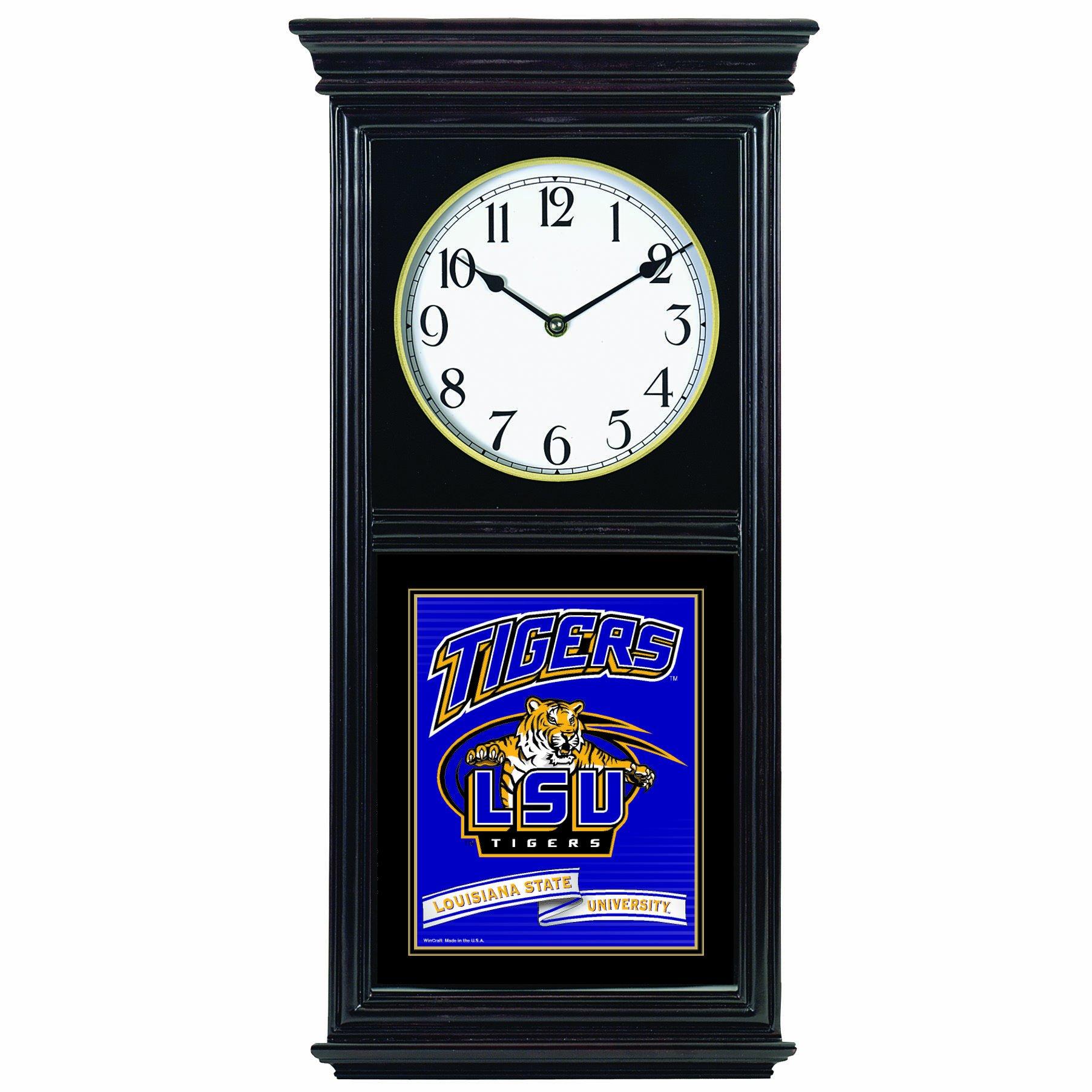 NCAA Louisiana State Fightin Tigers Regulator Clock