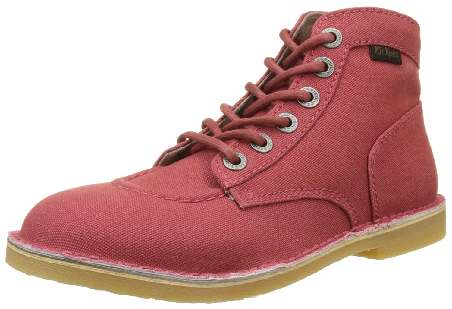 Kickers Orilegend, Scarpe Stringate Derby DonnaRot (Rouge)